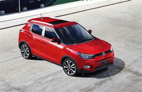 Ssangyong Tivoli Revealed, Sporty New Compact Suv