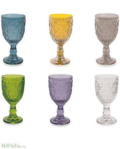set bicchieri set bicchieri colorati marrakech villa d este