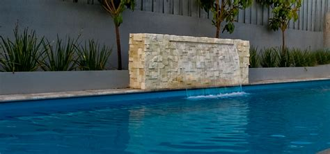 tile finishing the waterwall leisure pools australia