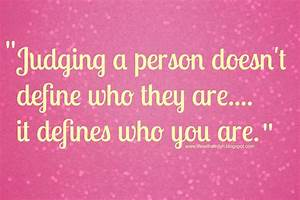 judging people quotes and sayings