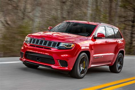 car jeep extreme machine jeep grand cherokee trackhawk the most