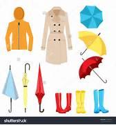 Rainy weather clothes ...