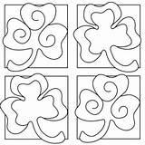 Shamrock Coloring St Printable Pages Sheets Patricks Patrick Adults Crafts Adult Leprechaun Printables Clover Saint Tipjunkie Craft Cut Games Templates sketch template