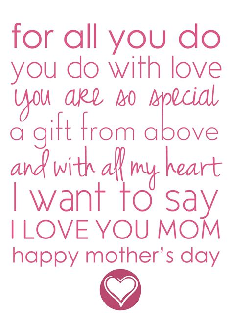 a mothers day poem best mothers day poems
