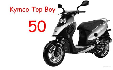Kymco Top Boy 50  Review Youtube