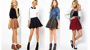 crazygirl653: Como combinar falda skater