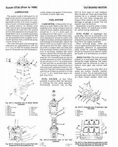 Suzuki Dt40 Prior To 1984 Service Repair Manual