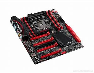 Asus X99 Rog Rampage V Extreme Motherboard Unveiled