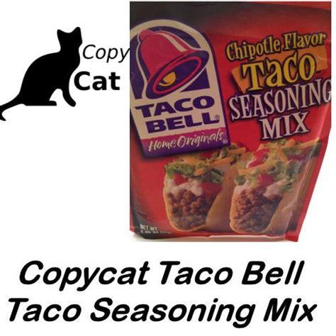 Taco Bell Burrito Seasoning Recipe