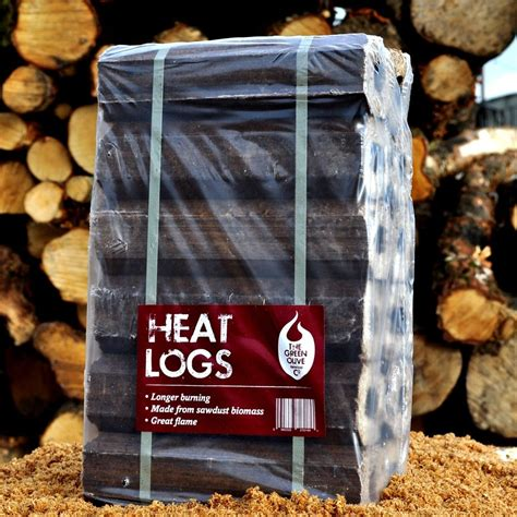 12 x sawdust briquettes10kg x2 the green olive firewood co
