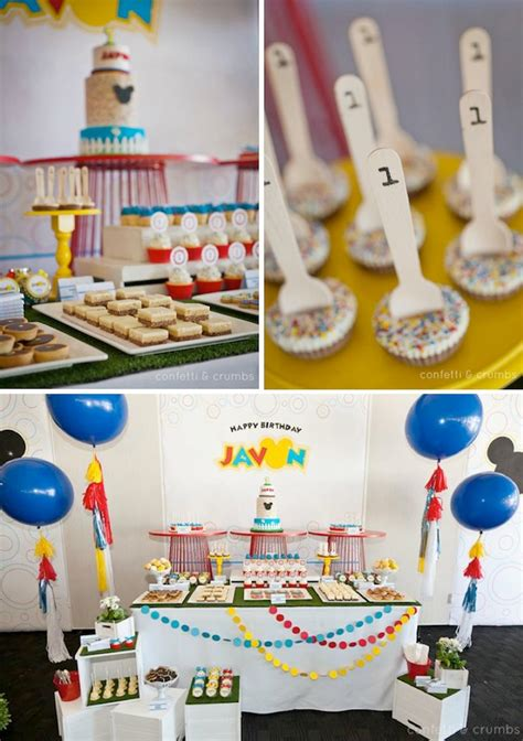 1st birthday party ideas for boys best on a boy kara 39 s party ideas mickey mouse 1st birthday boy disney