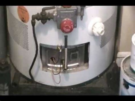 how to fix water heater will not stay lit sealed combustion no water