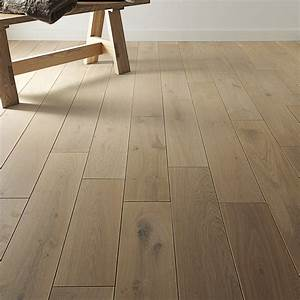 parquet massif chene naturel huile xl artens solid leroy With parquet stratifié passage intensif