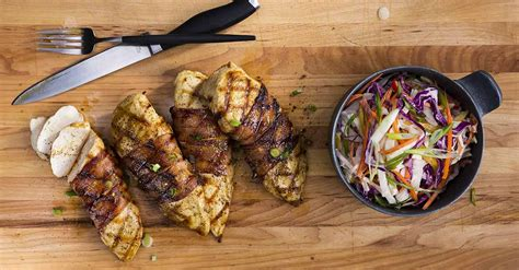 bacon wrapped chicken breast recipe bbq spot