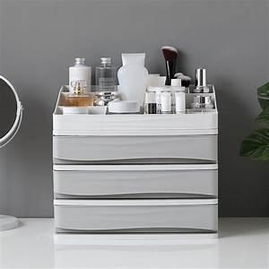 Scandinavian, Plastic, Storage, Drawer, Colorful, Desk, Storage, Drawer, Box, Organizer, Sundries