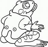 Frog Coloring Frosch Anzug Colorear Printable Rana Dibujos Disegni Anfibi Gratis Rane Tree Sapos Jasje Kleurplaat Tiere Frogs Sheets Colorare sketch template