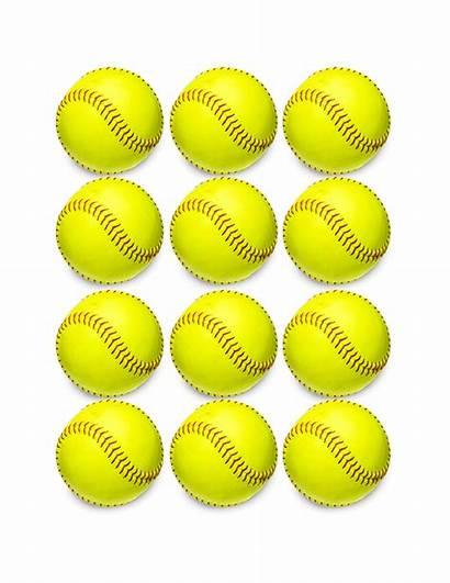 Dozen Softballs Softball Hub