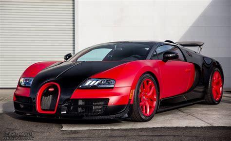 Bugatti Veyron Red/black Combo At Symbolic Motors Super