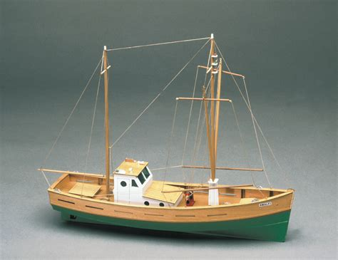 Fishing Boat Model Kits by Mantua Amalfi Fishing Boat 1 35 Scale Wood Ship Kit Ebay