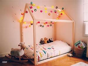 Lit Maison Fille : comment construire un lit maison seul maman louve ~ Teatrodelosmanantiales.com Idées de Décoration
