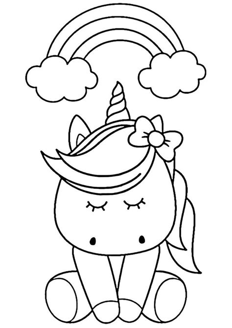 Rainbow Dream high quality free coloring from the