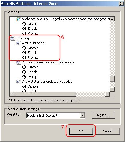 how to enable javascript enable or disable javascript in internet explorer 11