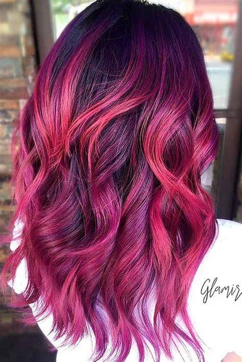 Hair Colours by 21 Loveliest Magenta Hair Color Ideas Magenta Hair