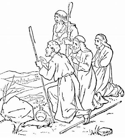 Bible Coloring Pages Jesus Colouring Story Printable