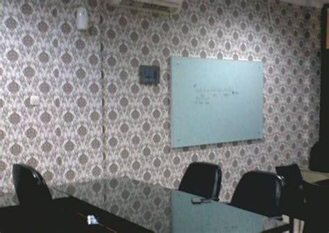 konsep wallpaper  kantor nirwana deco jogja