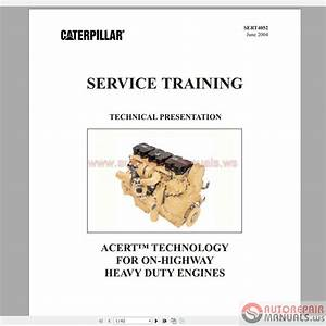 Caterpillar Service Manual Schematic  Parts Manual