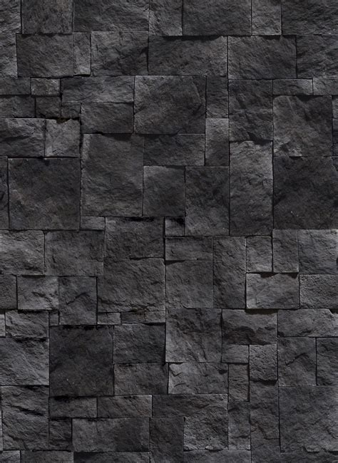 Kitchen Floor Tiles Ideas - black stone wall texture design inspiration 29211 floor ideas design residential kitchen 1st