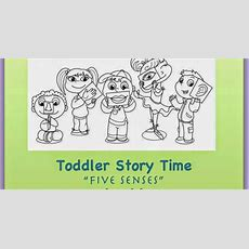 Sturgis Public Library Toddler Story Time  Five Senses  (july 9th