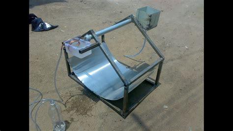solar water desalination mechanical project