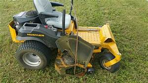 Lawn Tractor  Raptor Sd Versus Metal Rod