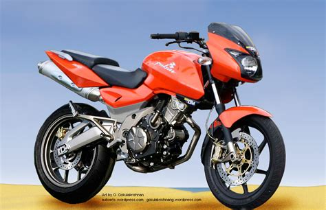 Pulsar 180 Altered Bikes by Bajaj Pulsar R Auto Arts