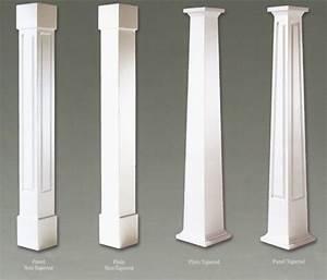 PVC Craftsman Column-Wraps - Colonial Pillars