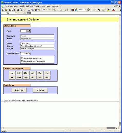tunesoft arbeitszeiterfassung bei freeware downloadcom