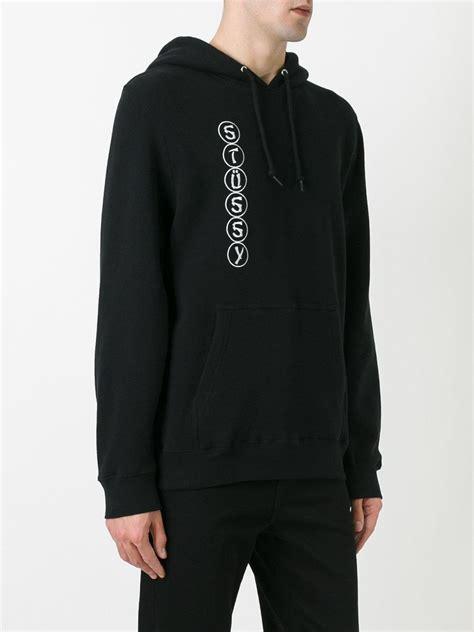 lyst stussy ying  hoodie  black  men