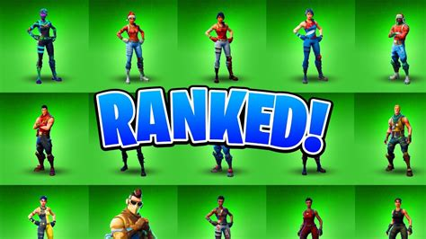 ranking   uncommon fortnite skins fortnite battle