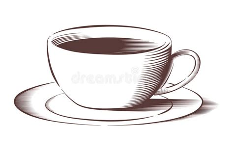 Vector Coffee Cup In Engraved Style Stock Vector The Coffee House Withington Grounds Lavender Plants Cats Q11 View D?p In Miami V� Van Ng�n Table Book