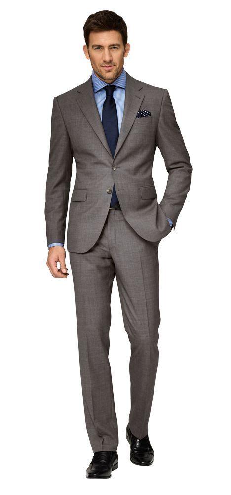 grauer anzug blaues hemd dolzer grauer anzug mit blauem hemd herren