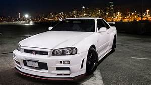 Nissan Skyline R34 : your ridiculously awesome r34 nissan skyline gt r v spec wallpaper is here ~ Maxctalentgroup.com Avis de Voitures