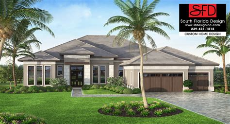 South Florida Designs Coastal Contemporary 1 Story Home