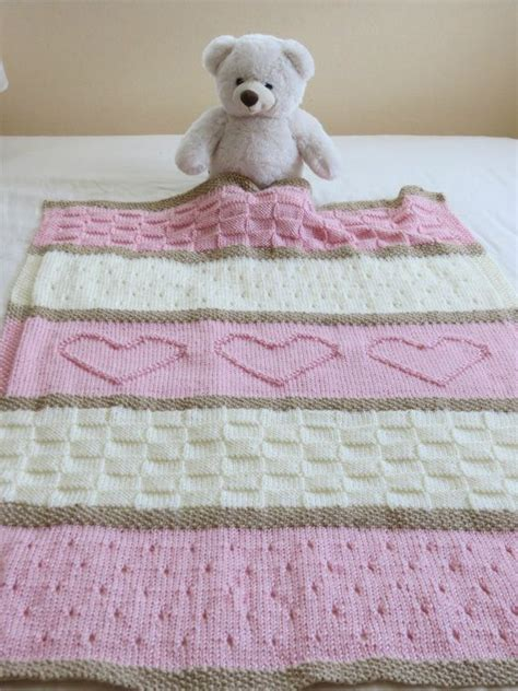 Patchworkdecke Stricken Muster by Baby Blanket Pattern Knit Baby Blanket Pattern