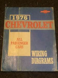 1976 Chevrolet All Passenger Cars Wiring Diagrams