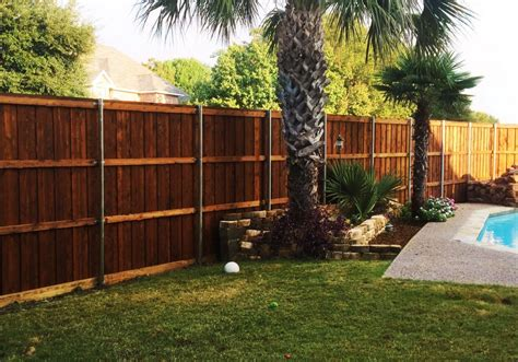 Backyard Fence Company by 8 Ft Board On Board Cedar Backyard Fence Fence