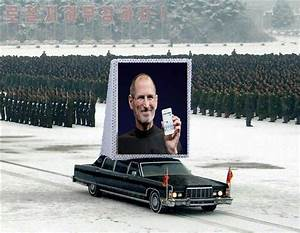 steve jobs funeral in north korea - Memerial.net