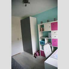Ikea Teen Girl's Bedroom, Ikea Expedit , Ikea Pax, Pink