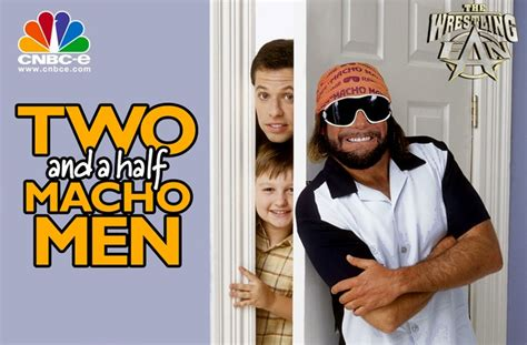 Macho Man Memes - two and a half macho men wrestling stuff pinterest