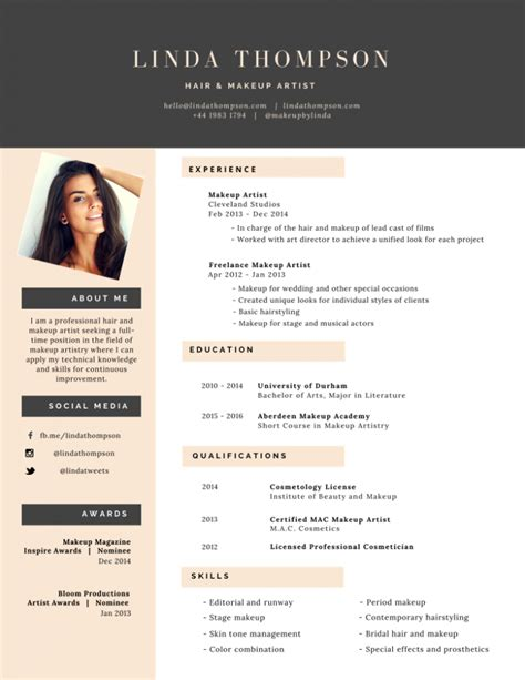 Professional Looking Cv Templates by 50 Most Professional Editable Resume Templates For